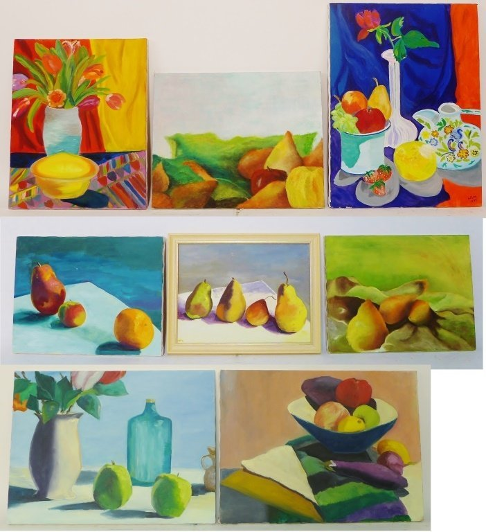 Still Life Paintings, Artist Signed