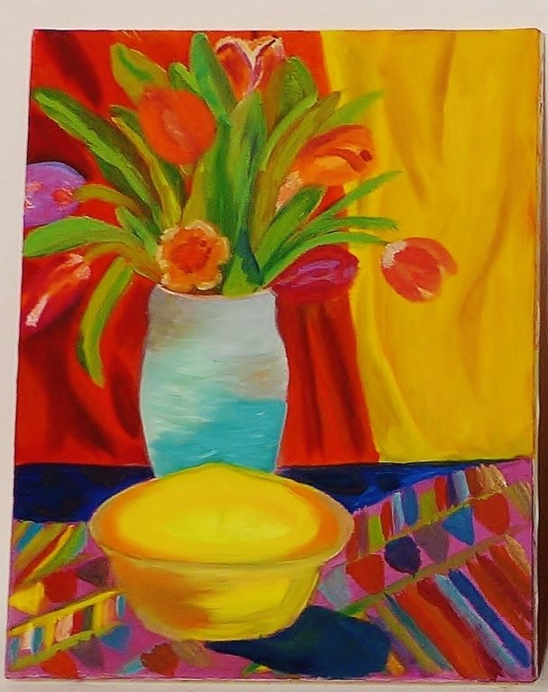 Still Life Paintings, Artist Signed - 2
