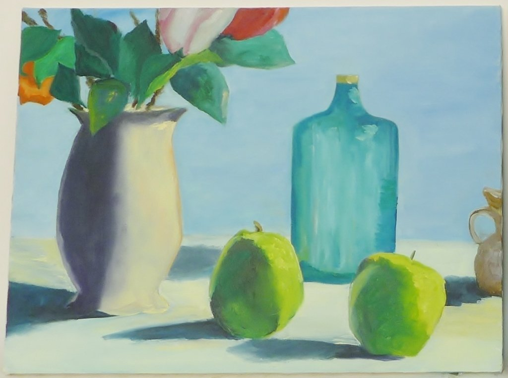 Still Life Paintings, Artist Signed - 7