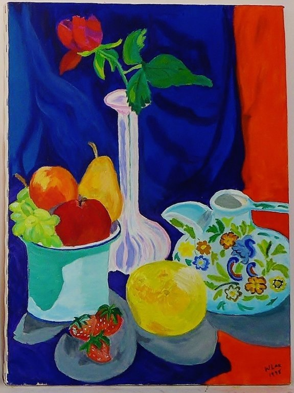 Still Life Paintings, Artist Signed - 9