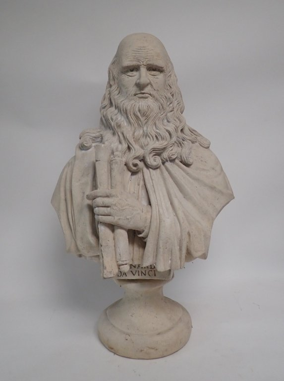 Leonardo Da Vinci Bust