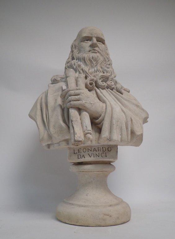 Leonardo Da Vinci Bust - 2