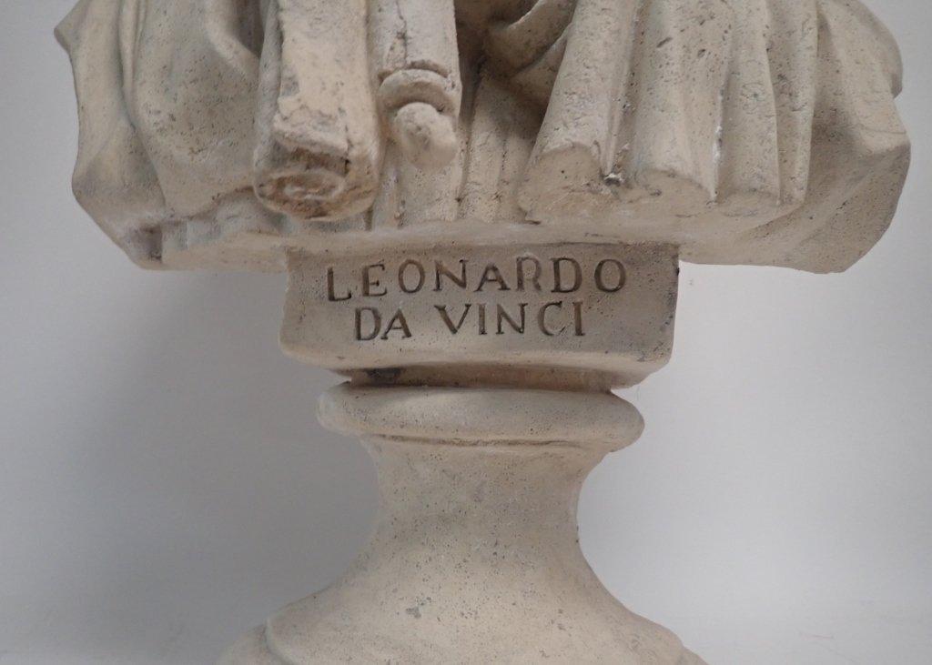Leonardo Da Vinci Bust - 3