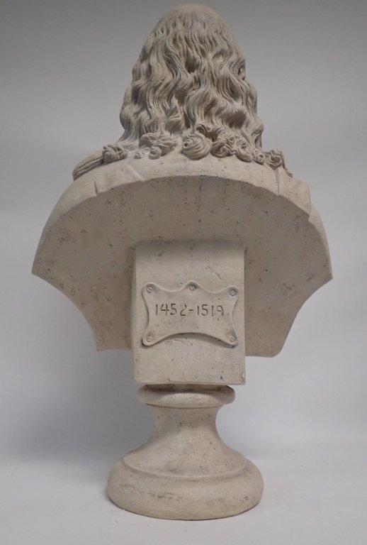 Leonardo Da Vinci Bust - 4