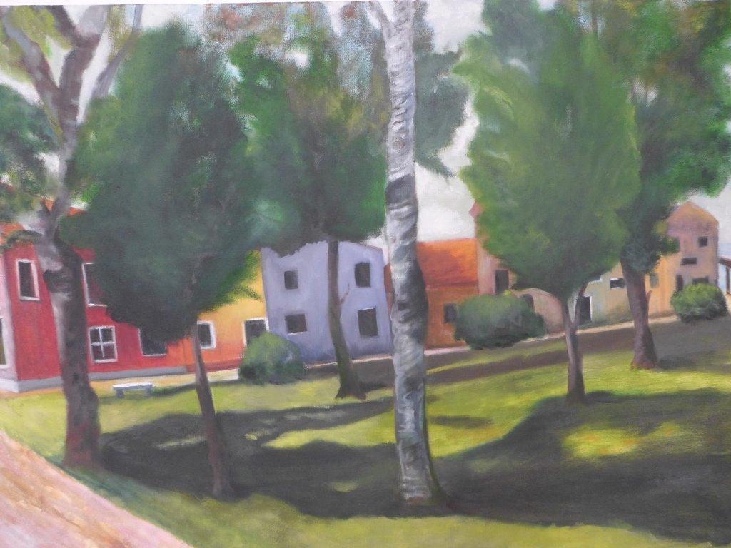 Assortment of Beach Scene Paintings, Artist Signed - 3