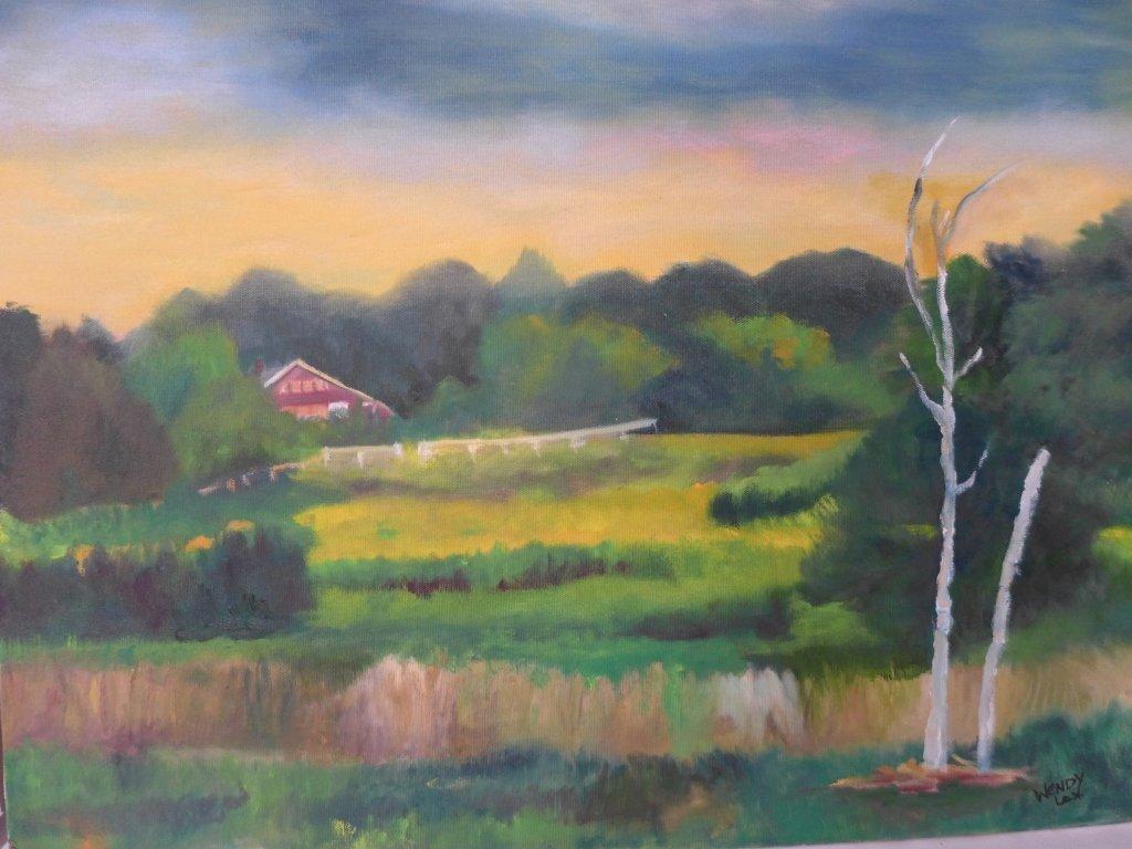 Assortment of Beach Scene Paintings, Artist Signed - 4