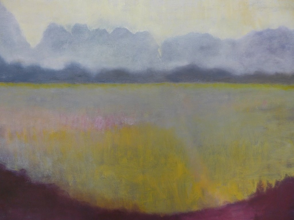 Mix of Landscape/Abstract Paintings, Artist Signed - 5