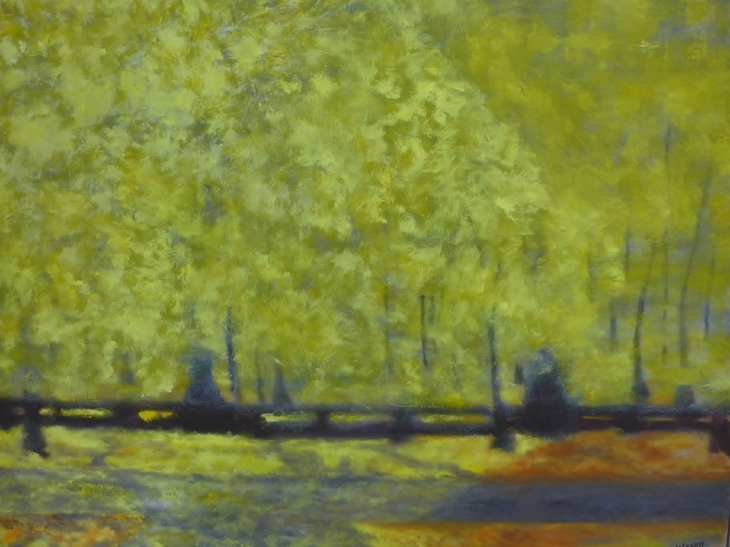 Mix of Landscape/Abstract Paintings, Artist Signed - 7