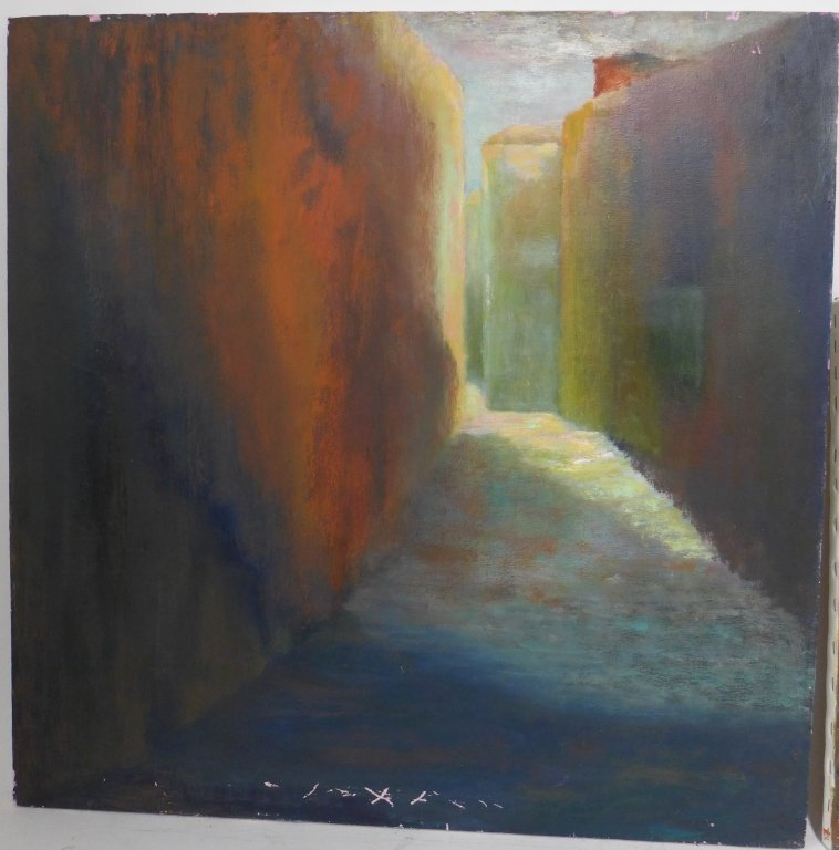 Mix of Landscape/Abstract Paintings, Artist Signed - 9