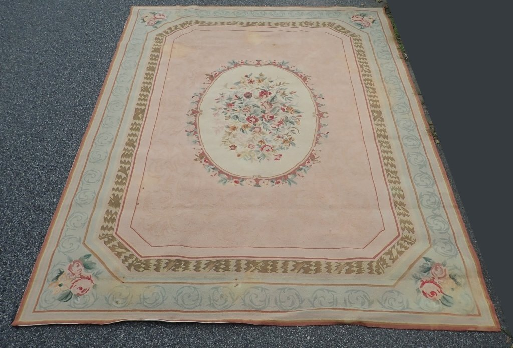 Center Medallion Vintage Rug