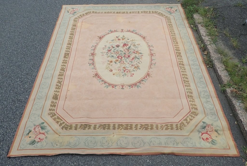 Center Medallion Vintage Rug - 7