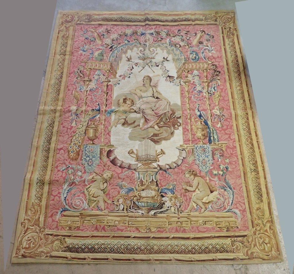 """Rambouillet Tapestry """"Le Portique de Junon"""""""
