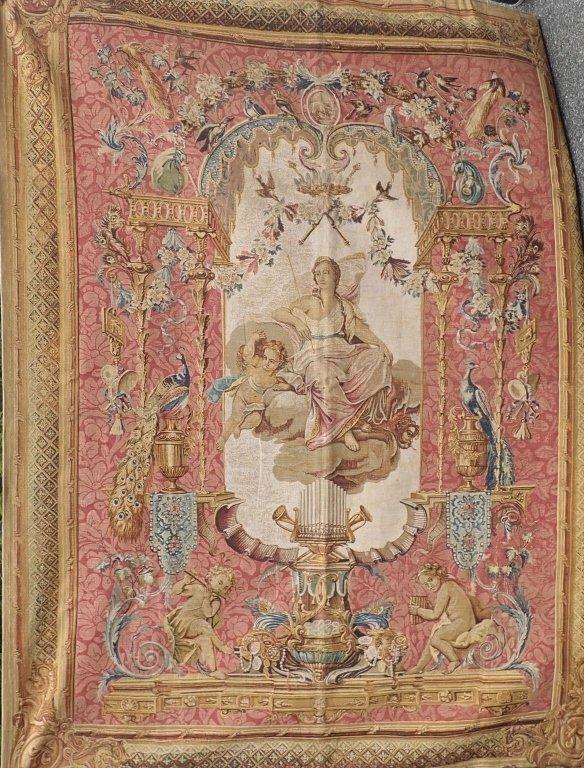 """Rambouillet Tapestry """"Le Portique de Junon"""" - 2"""