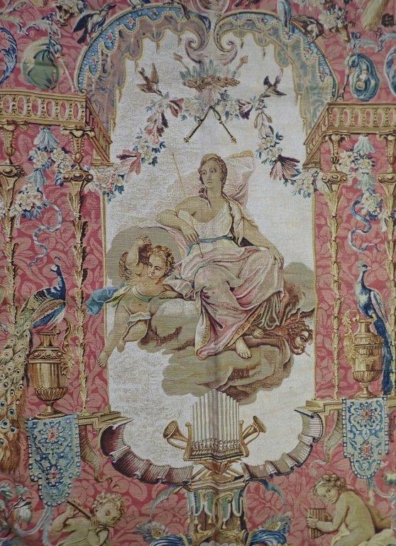 """Rambouillet Tapestry """"Le Portique de Junon"""" - 3"""