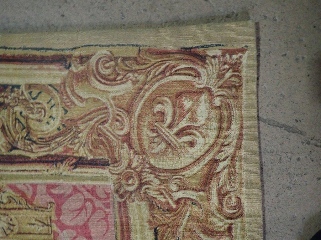 """Rambouillet Tapestry """"Le Portique de Junon"""" - 4"""