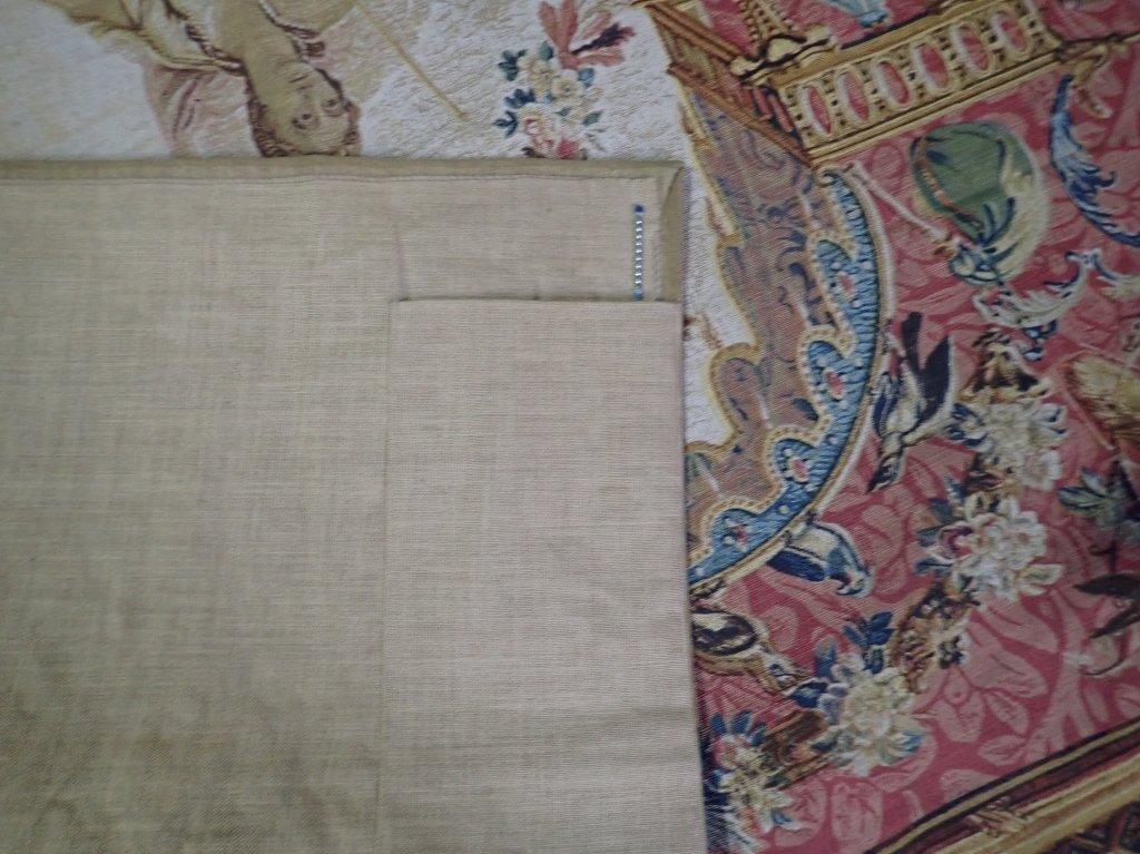 """Rambouillet Tapestry """"Le Portique de Junon"""" - 8"""
