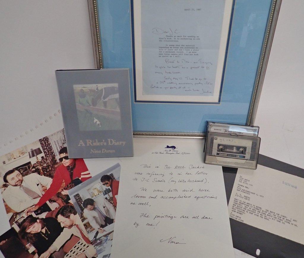 Jacqueline Kennedy Onassis Signed Letter