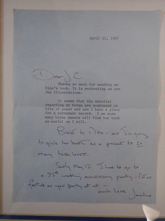 Jacqueline Kennedy Onassis Signed Letter - 3