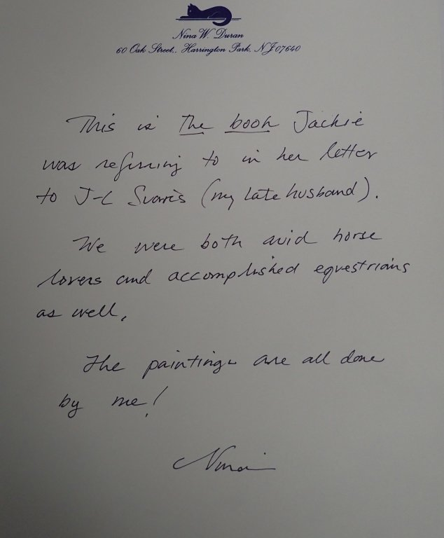Jacqueline Kennedy Onassis Signed Letter - 4