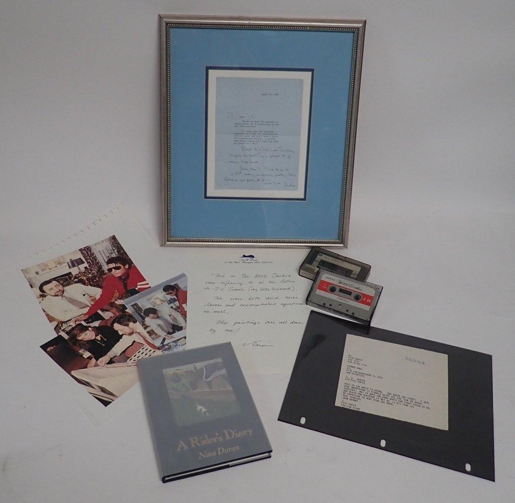Jacqueline Kennedy Onassis Signed Letter - 9