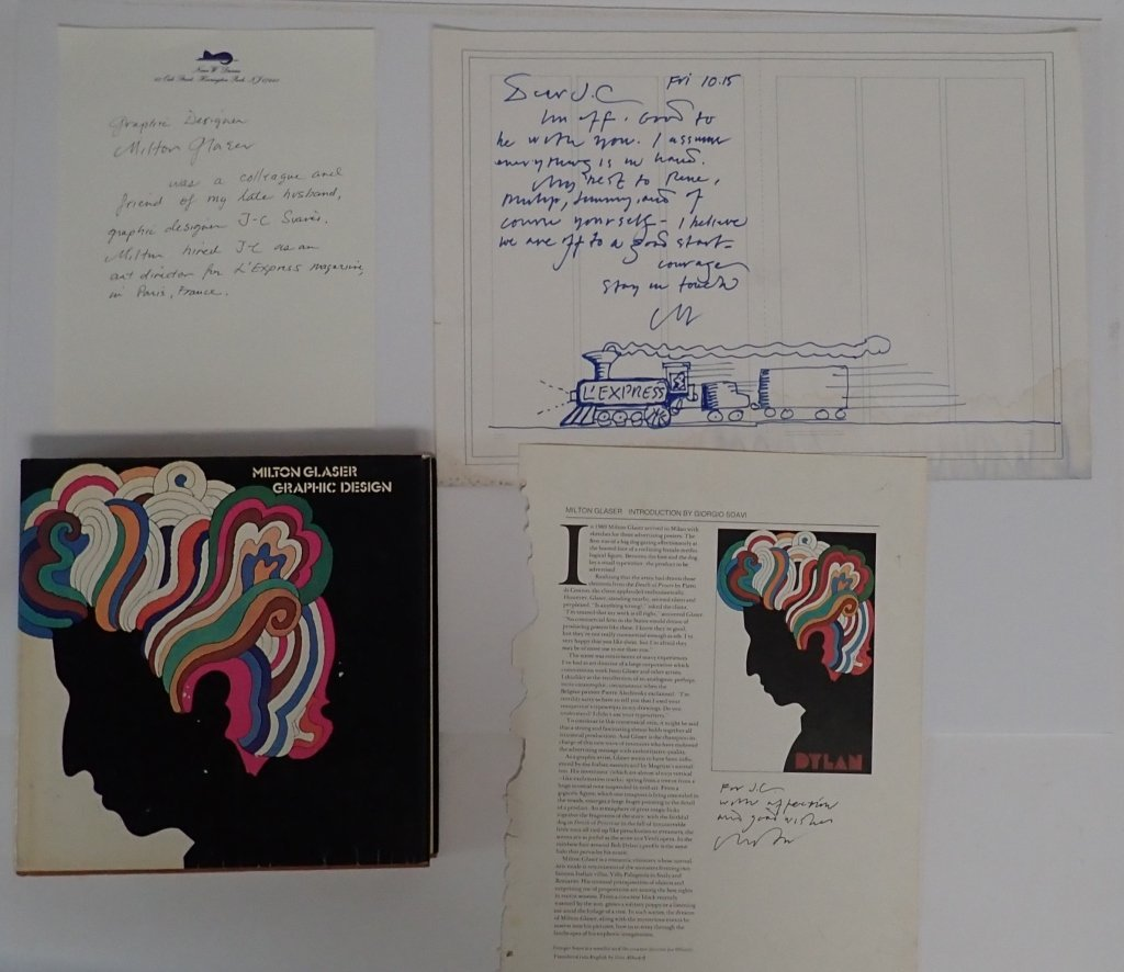 Milton Glaser Autograph Collection
