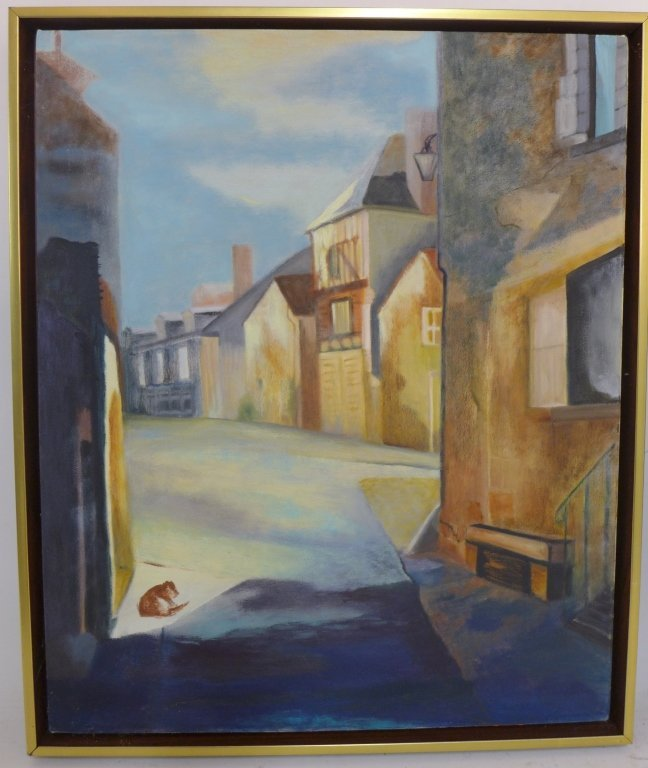 Artist signed eclectic mix of paintings - 2