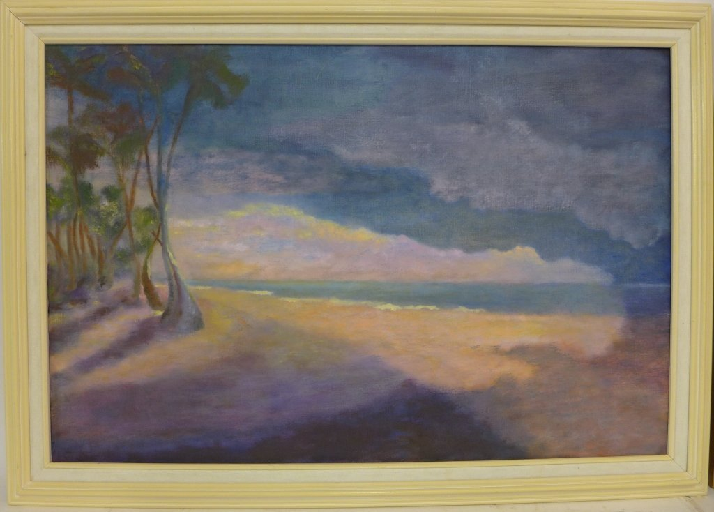 Artist signed eclectic mix of paintings - 6