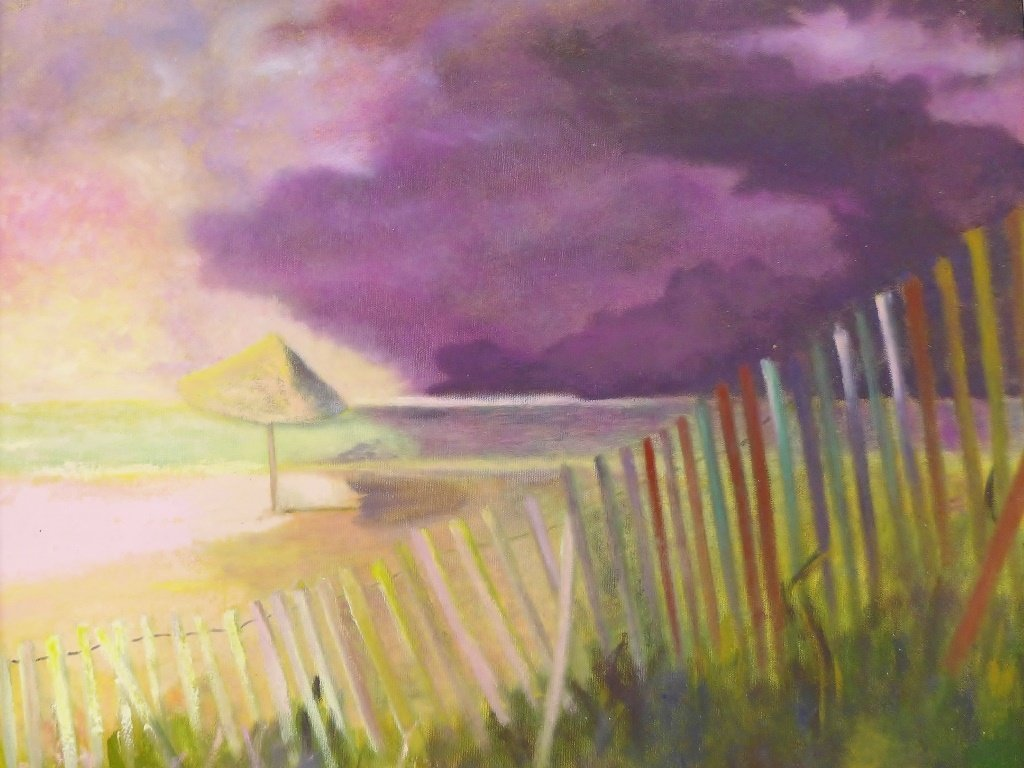 Beach Painting Collection, Artist Signed - 2
