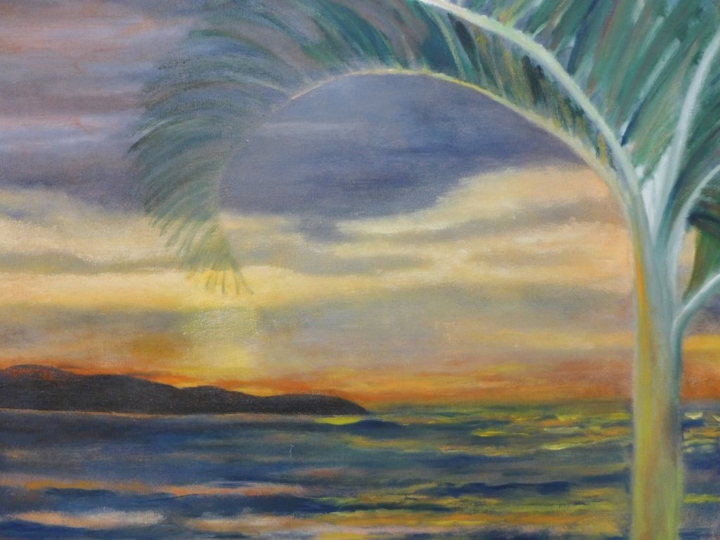 Beach Painting Collection, Artist Signed - 3
