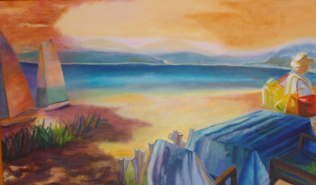 Beach Painting Collection, Artist Signed - 5