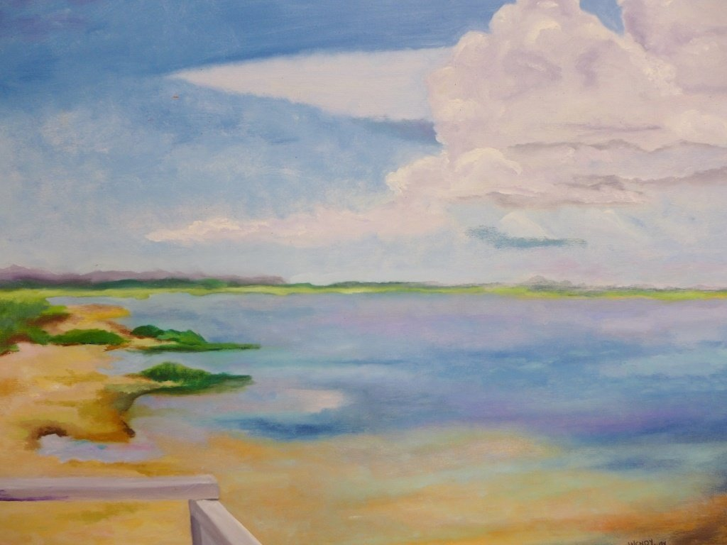 Beach Painting Collection, Artist Signed - 8
