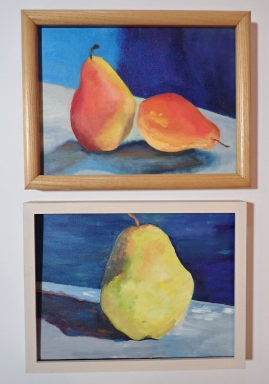 Group Interior/ Still Life Paintings Artist Signed - 3
