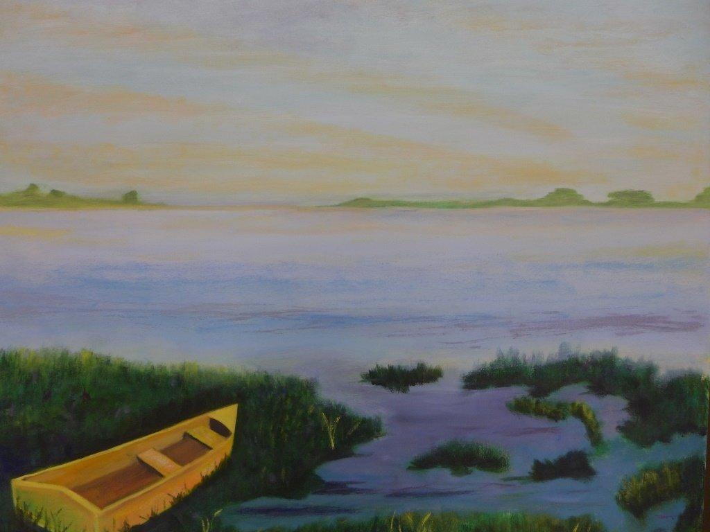 Mountain Scene Paintings, Artist Signed - 6