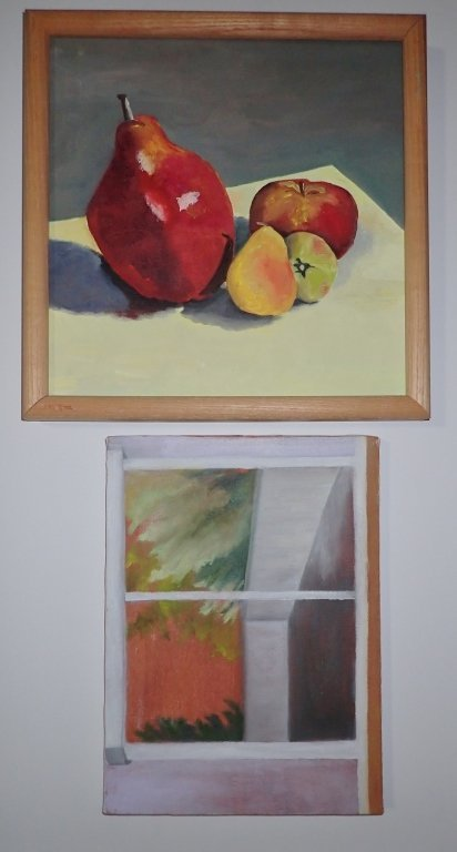 Grouping of Unframed Paintings - 6