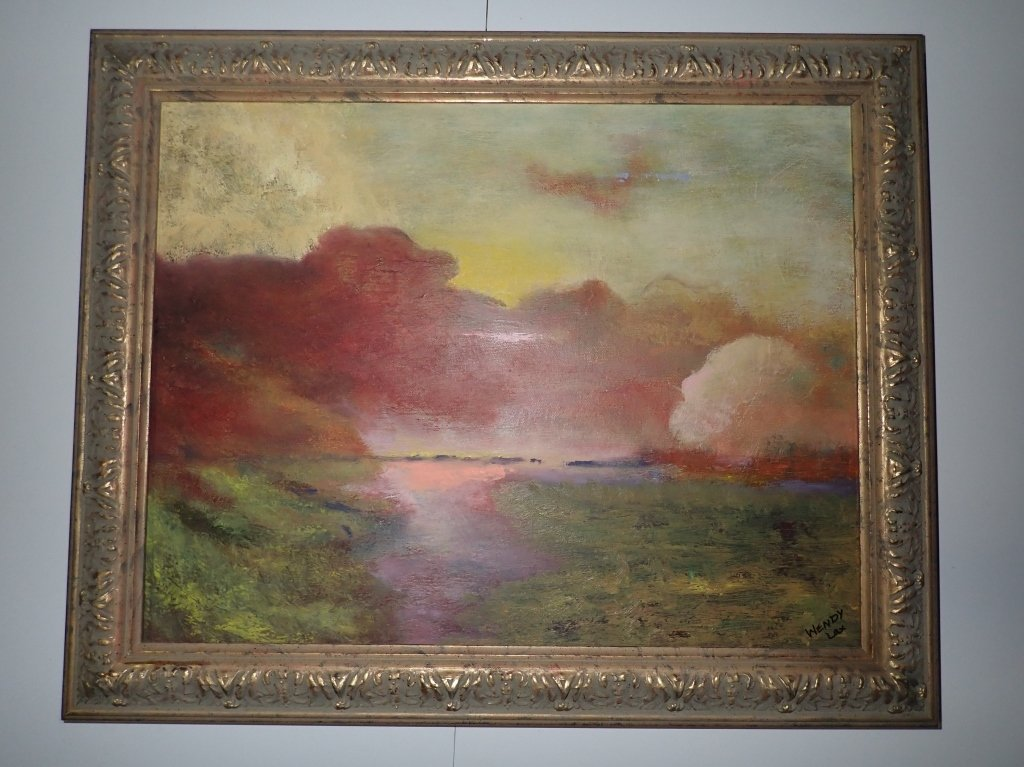 Framed Landscape Painting Collection, Signed - 2
