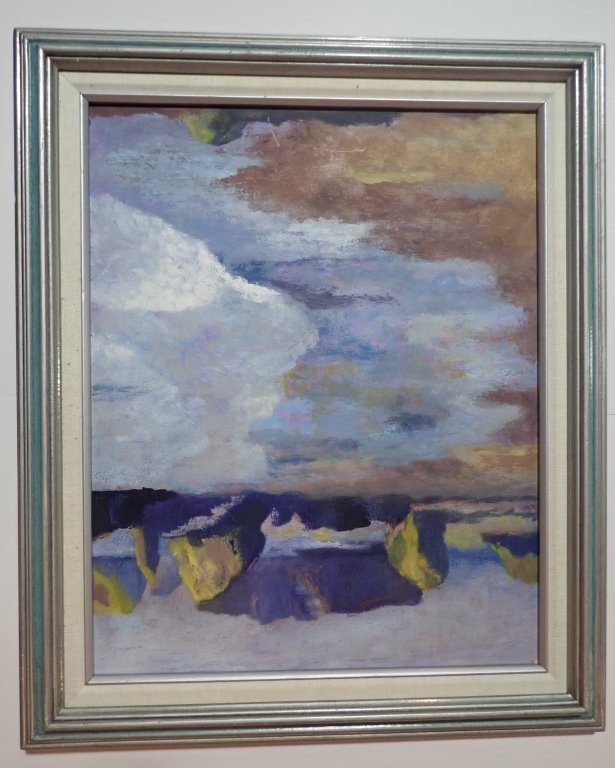 Framed Landscape Painting Collection, Signed - 3