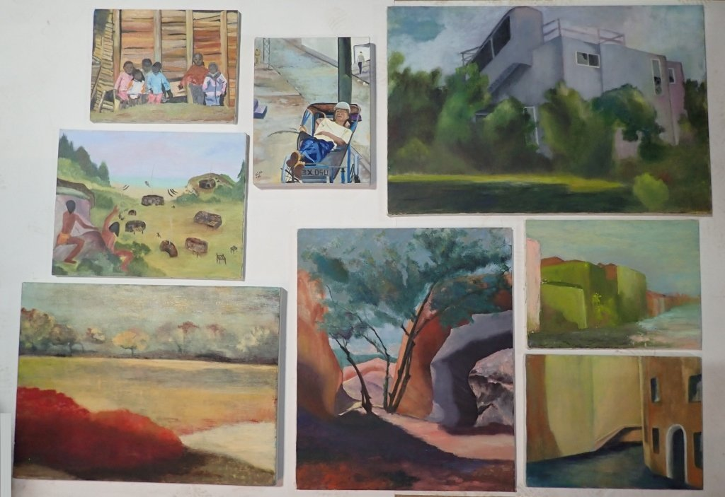 Artist Signed Collection of Unframed Paintings