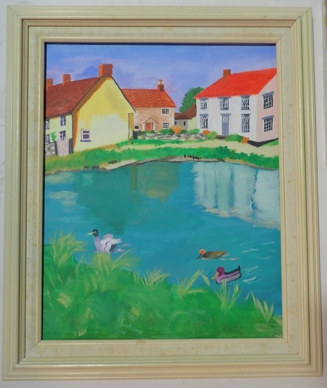 Assortment of Paintings, Artist Signed - 3