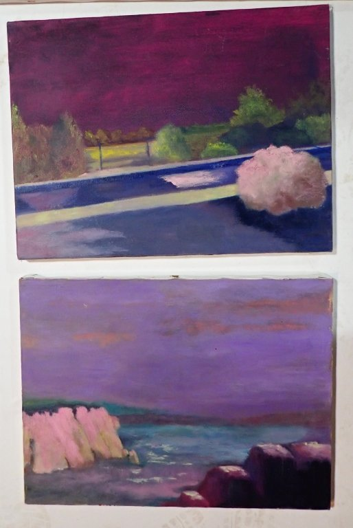 Assortment of Paintings, Artist Signed - 6