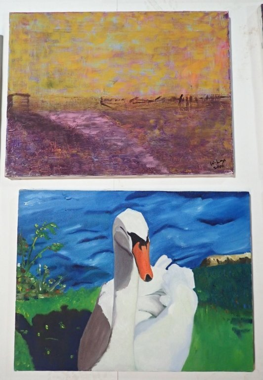 Assortment of Paintings, Artist Signed - 7