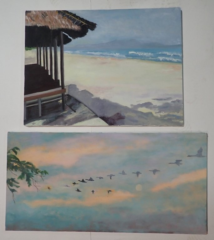 Assortment of Paintings, Artist Signed - 8