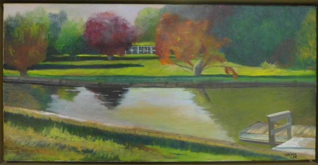 Landscape Panorama Paintings, Artist Signed - 3