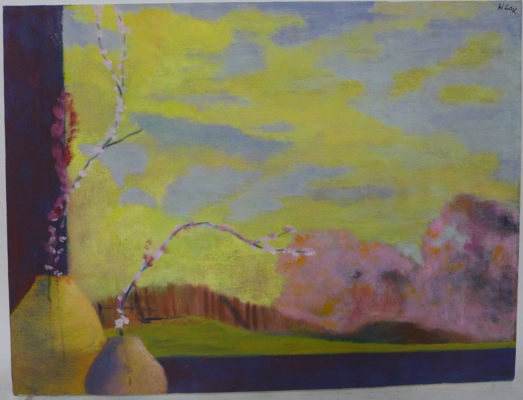 Landscape Panorama Paintings, Artist Signed - 7