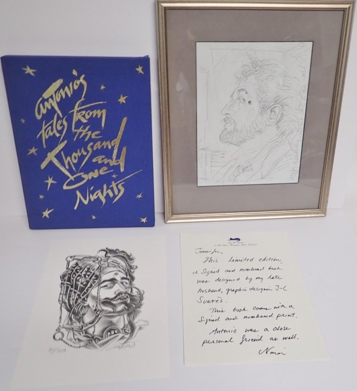 Antonio Lopez Signed Collection - 10