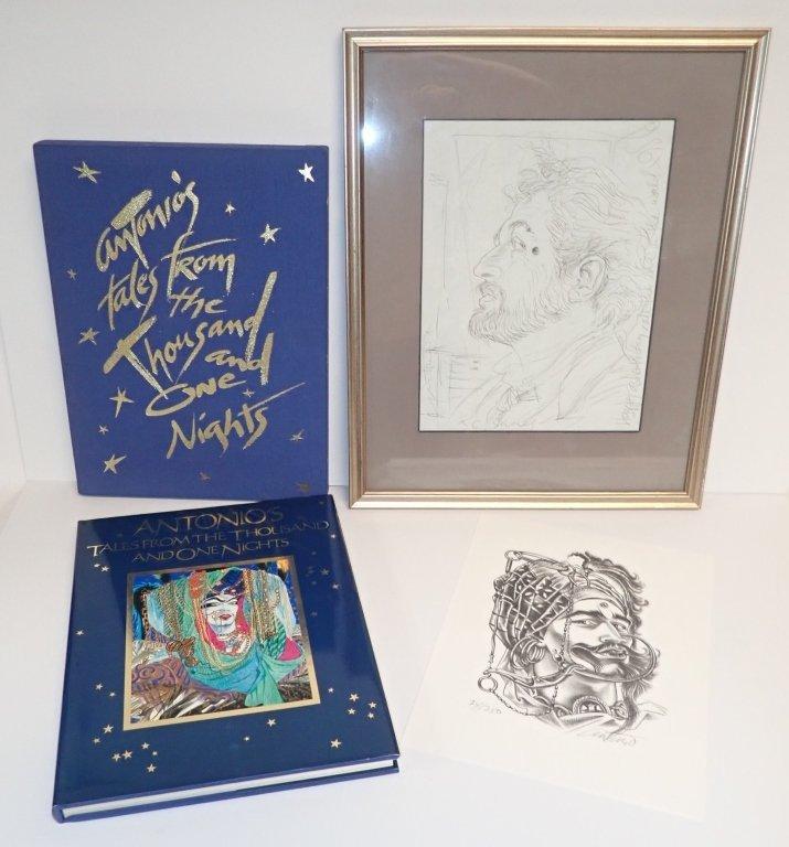 Antonio Lopez Signed Collection