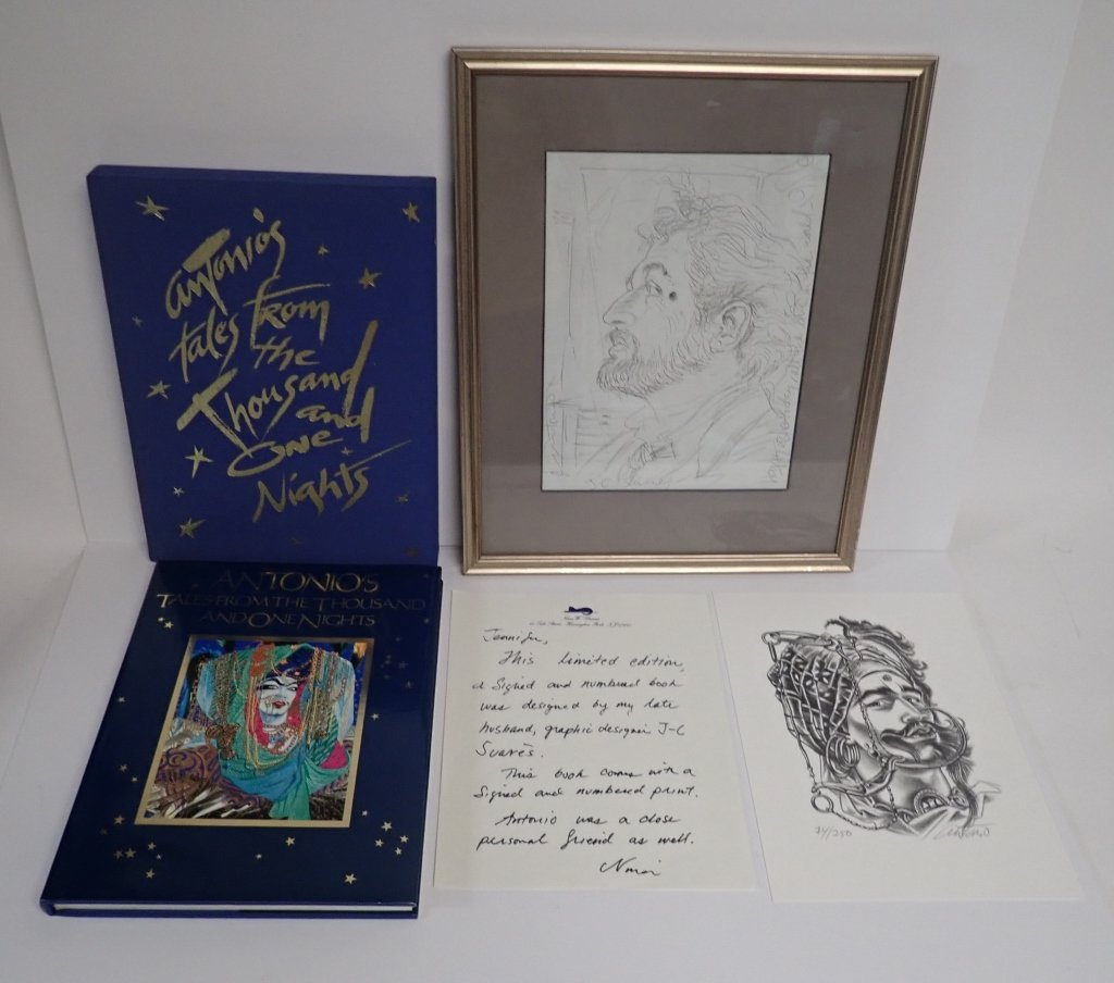 Antonio Lopez Signed Collection - 2