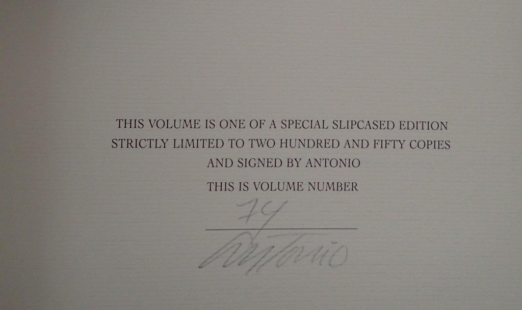 Antonio Lopez Signed Collection - 9
