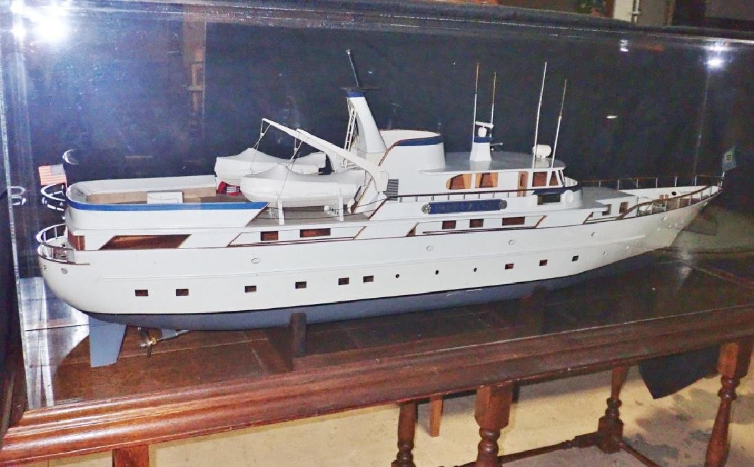 "Shipbuilders Model of the A-P-A Yacht ""Imperator"""