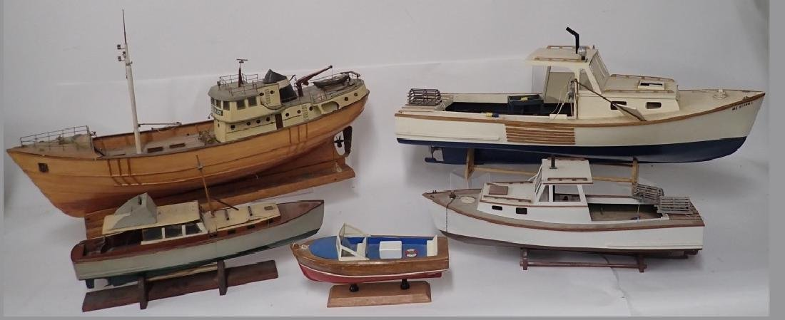 Fishing and Leisure Boat Models