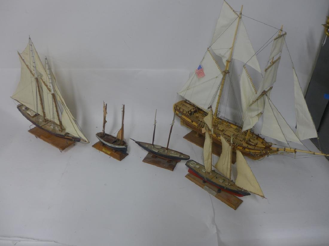 Double Mast Model Sail Boat Collection